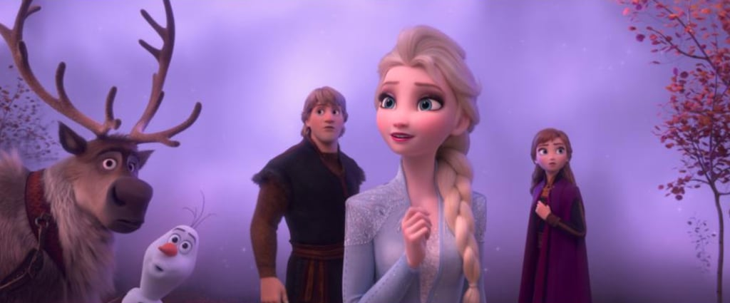 The release date for the sequel to Frozen, titled simply Frozen 2, is inching closer by the day. While we won't figure out exactly what Anna, Elsa, Kristoff, Olaf, and Sven are up to until the buzzy animated film hits theaters on Nov. 22 — though we do have a bunch of theories about their new adventure — Disney has luckily released a handful of images and posters (as well as a new trailer) to tide us over in the meantime. On top of all that, we've also gotten a glimpse of the characters stars like Sterling K. Brown, Jason Ritter, Evan Rachel Wood, and Martha Plimpton will be voicing. Keep scrolling to see them all!      Related:                                                                                                           Frozen 2 Has 2 New Cast Members and the Trailer Has 2 New Characters — Coincidence?