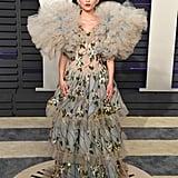 Rowan Blanchard at the 2019 Vanity Fair Oscars Party