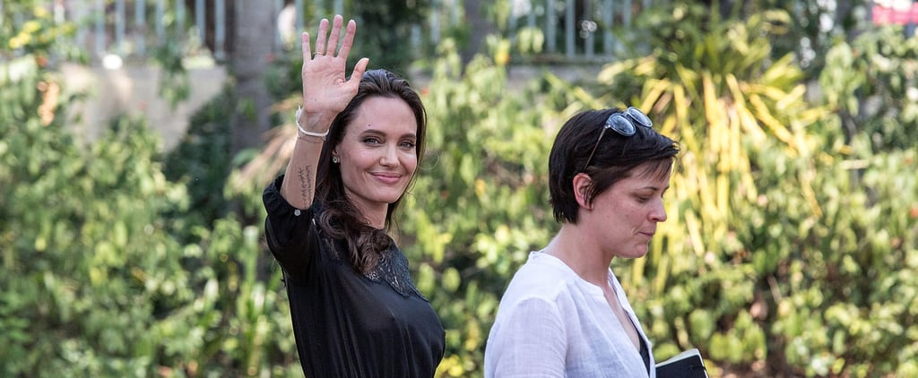 The Next Dress You Pack For Vacation Should Be the One Angelina Jolie's Wearing