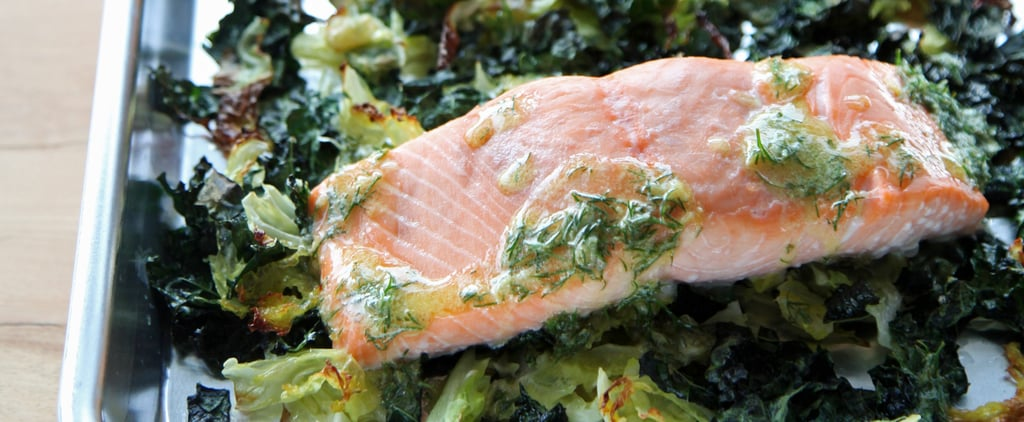 Salmon With Crispy Cabbage and Kale Is a One-Pan Wonder