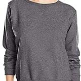 Hanes Women's Midrise Cinch-Bottom Fleece Sweatpants and V-Notch Pullover Fleece Sweatshirt