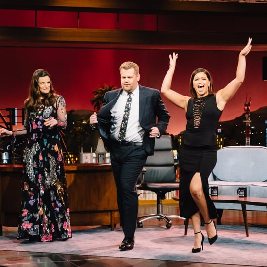 Gina Rodriguez Salsa Dancing With James Corden | Video
