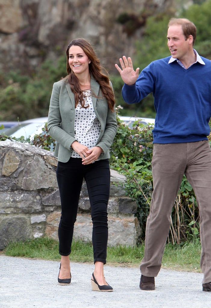 kate middleton first official postbaby appearance style