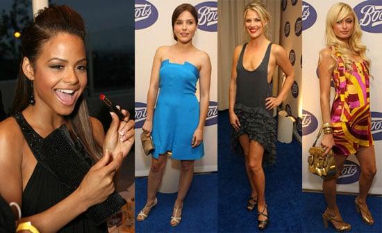 Paris, Ali, Sophia & Christina in Boots