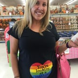 When 1 Mom Wore a Shirt in Honor of Her Rainbow Baby, She Never Expected a Stranger to React Like This