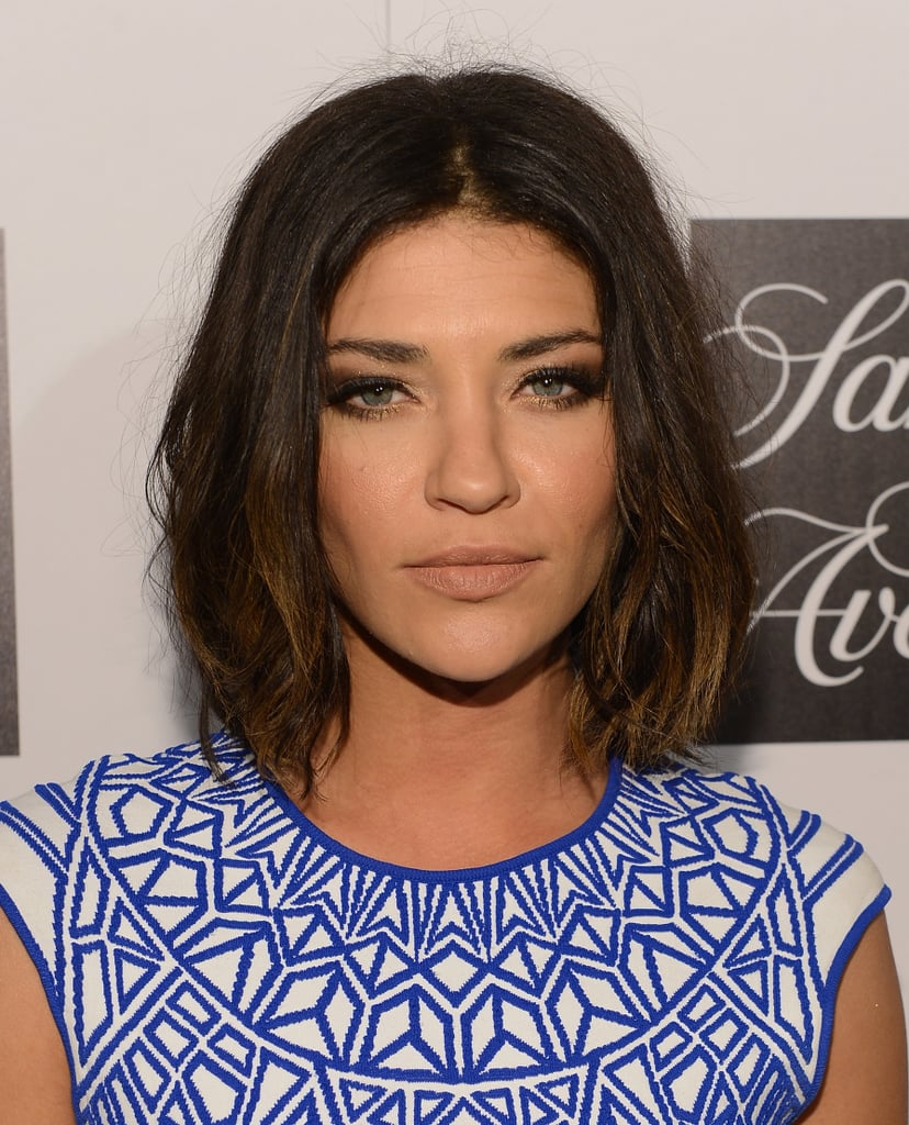 Jessica Szohr Celebrities With A Lob Haircut Popsugar