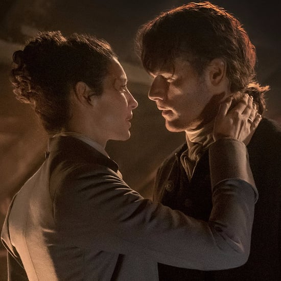 Jamie and Claire's Reunion on Outlander Photos