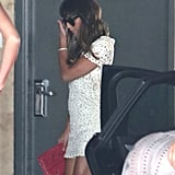 Lea Michele Steps Out For Lunch After Cory Monteith's Death