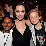 Zahara, Angelina, and Shiloh were too cute for words at the Kids' Choice Awards in LA in March 2015.