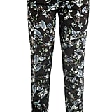 Esmeralda rainforest-reflections print trousers ($796)