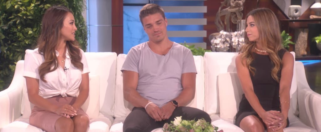 Dean, Kristina, and D-Lo From Bachelor in Paradise Went on Ellen — Yep, It Was Awkward