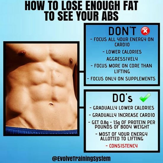 How to Lose Enough Belly Fat to See Abs