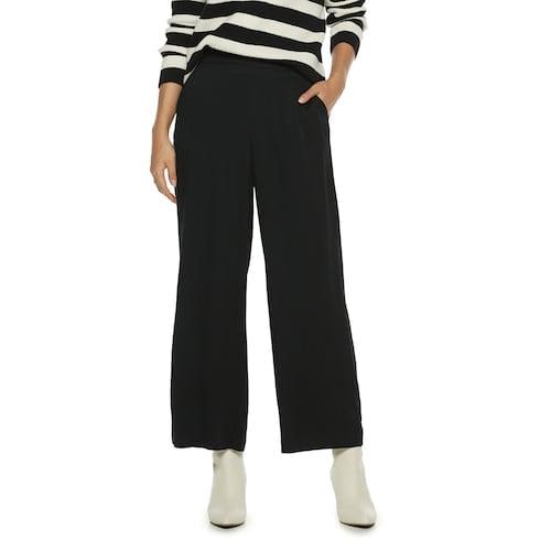 POPSUGAR High-Waisted Wide-Leg Pants