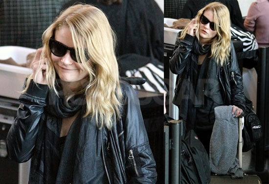 Photos of Emilie de Ravin Arriving at LAX Without Her Remember Me Costar Robert Pattinson