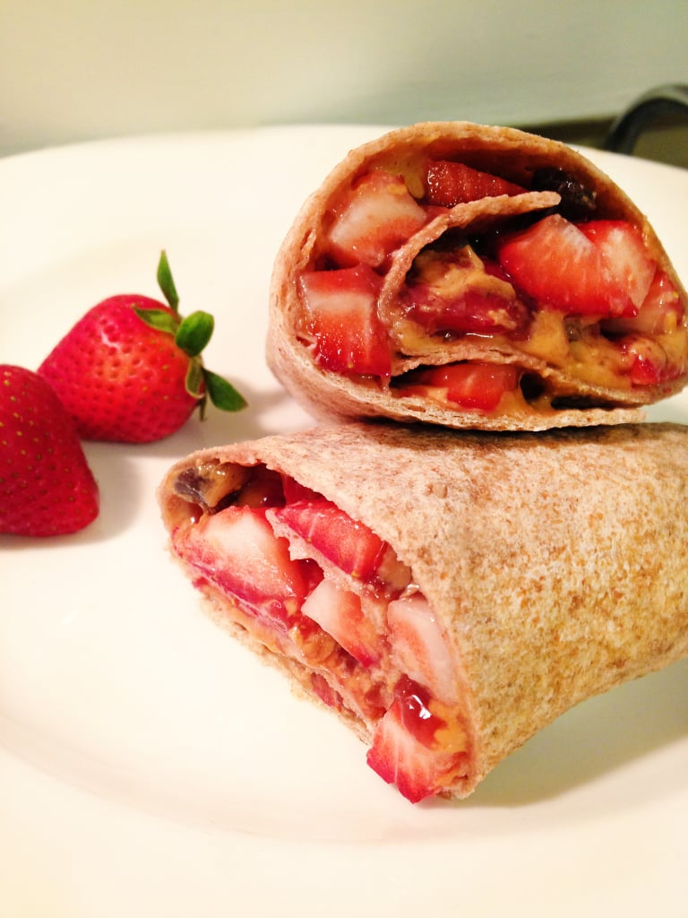 Peanut Butter and Jelly Burrito