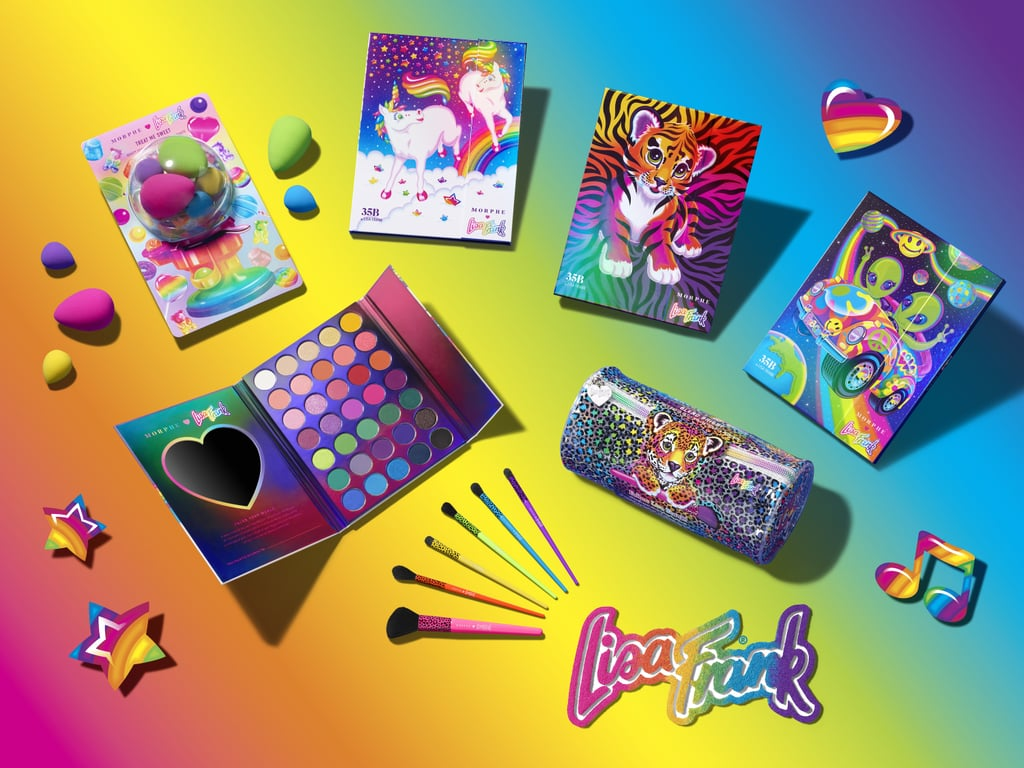 Get a First Look at the Morphe x Lisa Frank Makeup Products