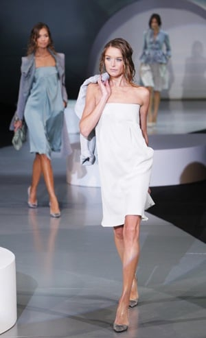 Milan Fashion Week, Spring 2009: Giorgio Armani