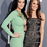 Katy Perry and Allison Williams walked the Grammys red carpet together.