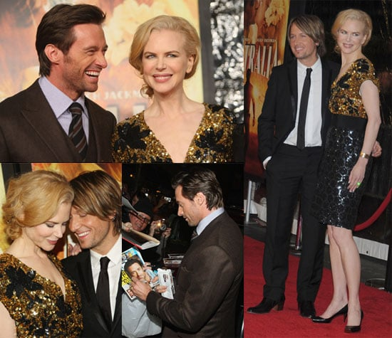 Photos of Nicole Kidman with Keith Urban and Hugh Jackman at NYC Premiere of Australia