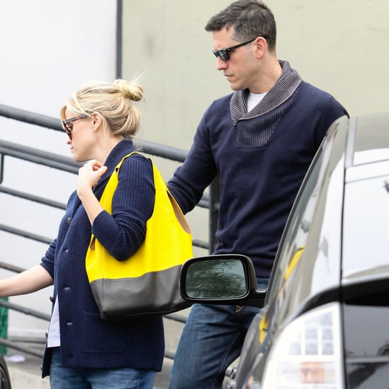 Pregnant Reese Witherspoon and Jim Toth Pictures in LA