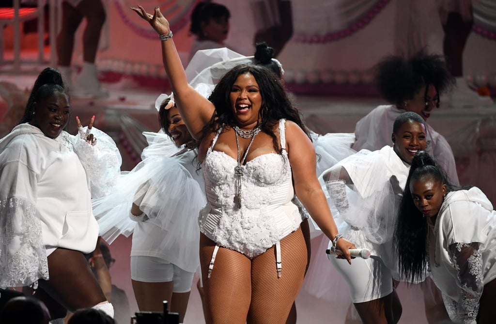 "When I first found out that Lizzo was performing at Sunday's BET Awards, I knew she was going to kill it, but I certainly wasn't ready for this. Dressed in a bridal-inspired look, the 31-year-old singer had everyone on their feet with her energetic performance of her hit ""Truth Hurts."" She even brought out her famous flute! As if that wasn't exciting enough, Lizzo got a standing ovation from Rihanna, who made a surprise appearance at the show. OK, I would totally be down for a Lizzo and Rihanna collaboration, just saying! Watch Lizzo's fun-filled performance ahead!"
