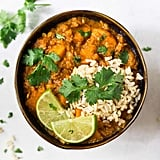 Slow-Cooker Red Lentil Curry With Sweet Potatoes