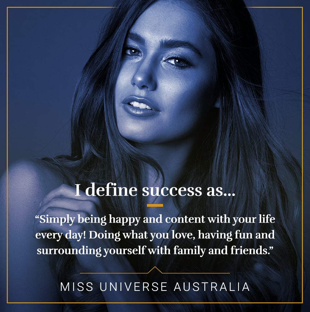 how miss universe contestants define success popsugar career and how miss universe contestants define success popsugar career and finance photo 2