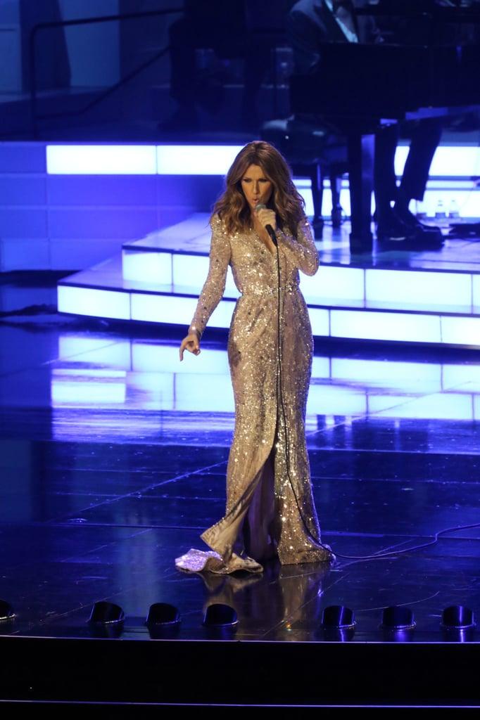Celine Dion Returns to Stage Amid Husband's Cancer Battle