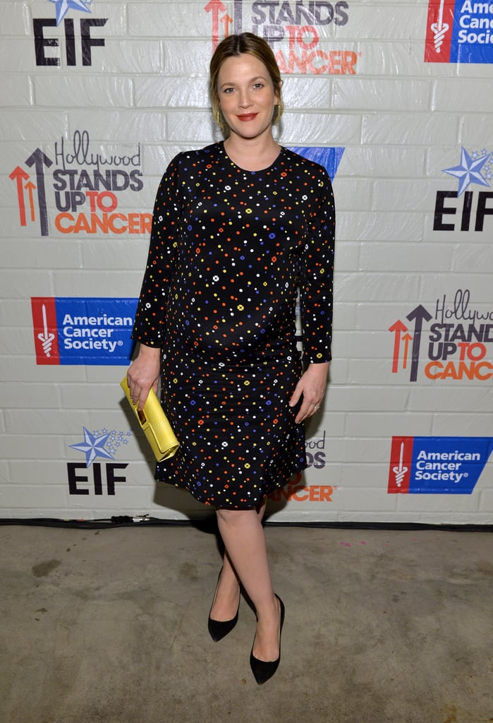 Drew Barrymore at Hollywood Stands Up to Cancer Event