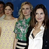 Virginie Ledoyen, Diane Kruger, and Léa Seydoux attended the Berlin Film Festival.