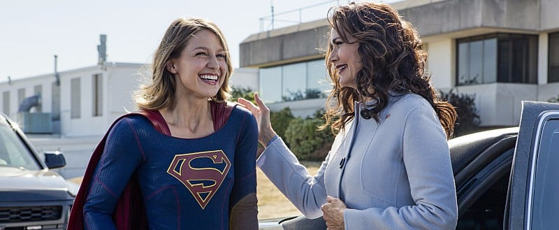Worlds Will Collide When Wonder Woman's Lynda Carter Guest Stars on Supergirl