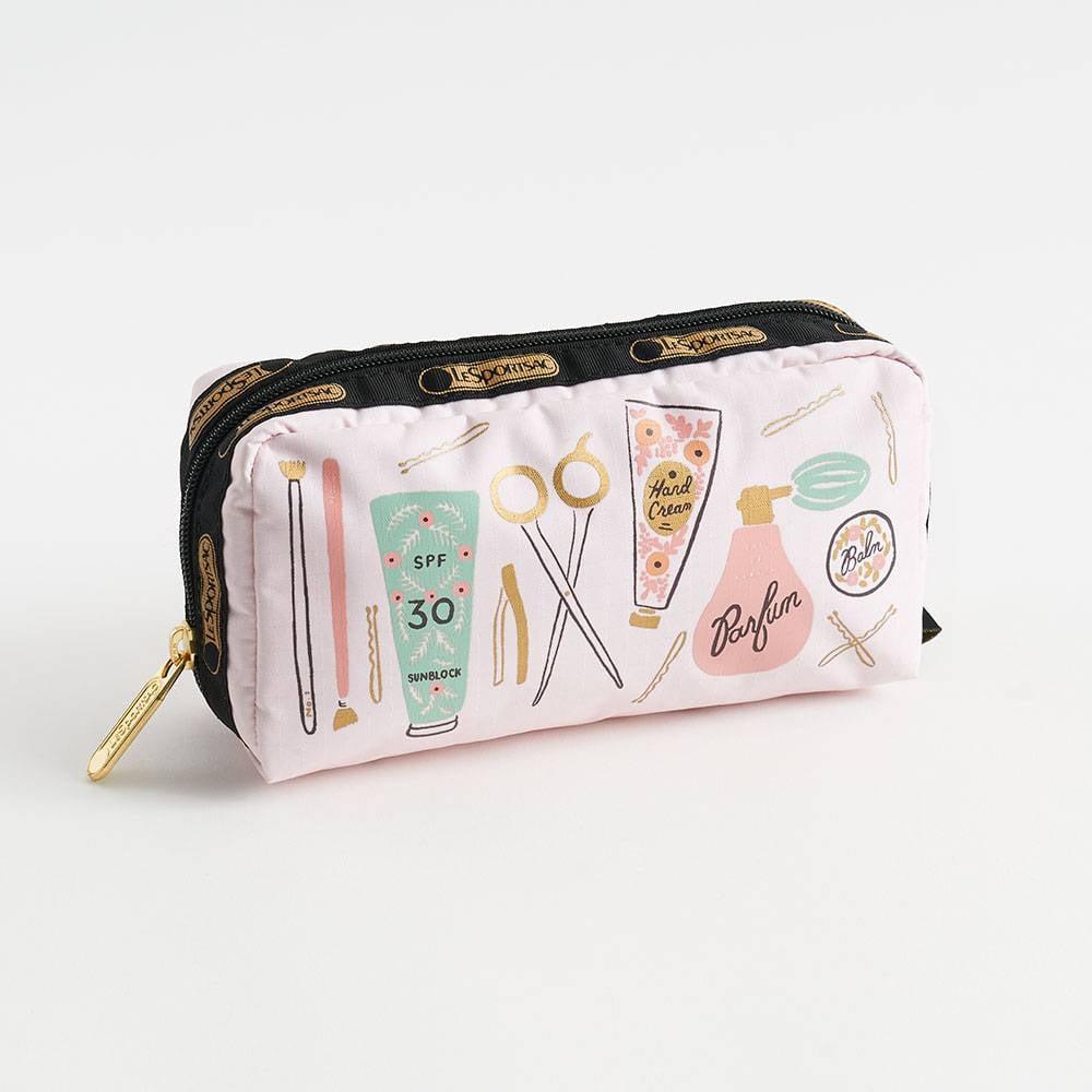 Blush Beauty Rectangular Cosmetic Bag