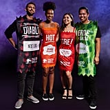Taco Bell Diable Sauce Tunic, Hot Sauce Dress, Fire Sauce Dress, and Verde Sauce Tunic