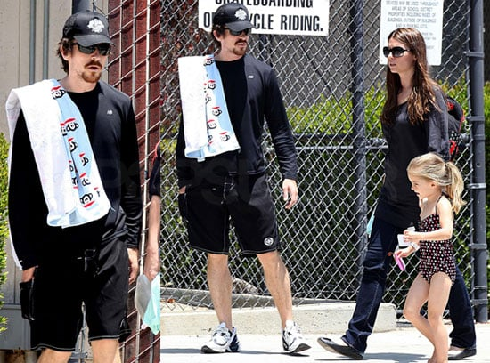 Photos of Christian Bale and Emmeline Bale in a Swimsuit