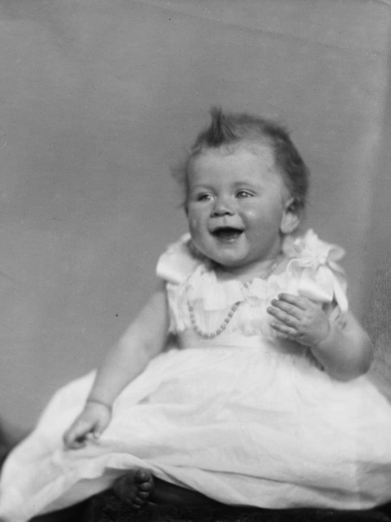 Elizabeth as a Baby, 1926
