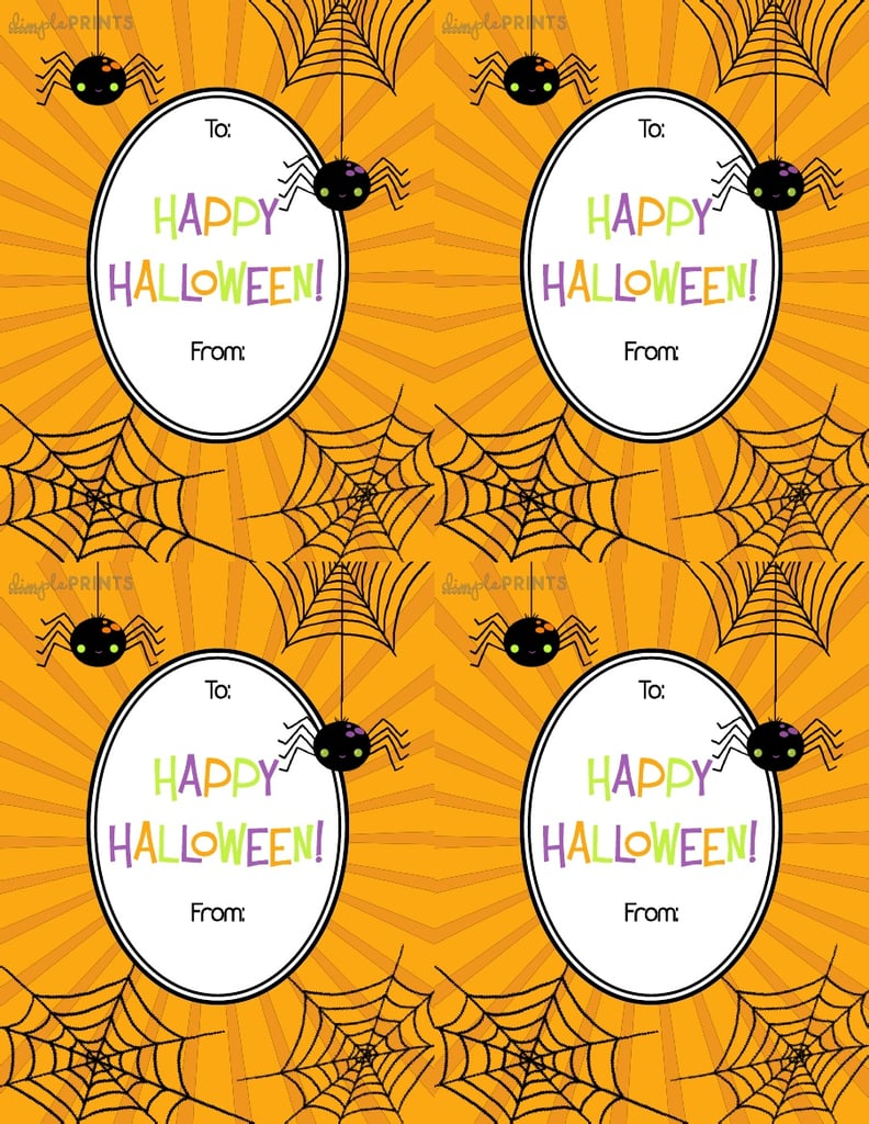 Free Printable Halloween Gift Tags Popsugar Smart Living