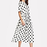 Romwe Polka-Dot Summer Dress