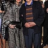 Iris Apfel and Carl Apfel