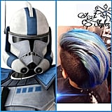 Star Wars Rainbow Hair