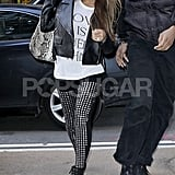 Beyoncé Brings Her Studded Leggings and a Smile to NYC