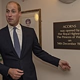 When He Couldn't Be More Thrilled to Unveil Yet Another Plaque