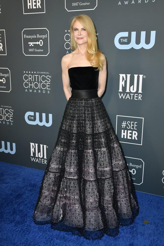 Nicole Kidman at the 2020 Critics' Choice Awards