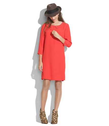 This wear-anywhere Madewell shift dress ($165) gets added personality via a subtly sweet round collar.