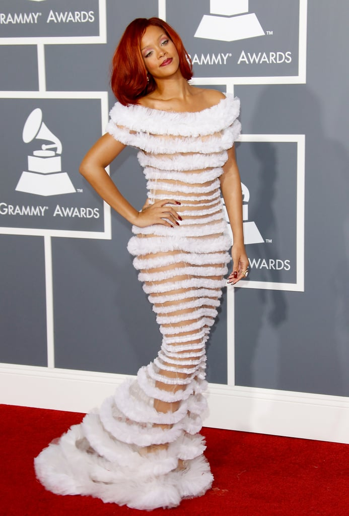 Robe de rihanna au grammy awards 2018