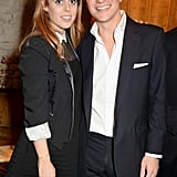 They attended a book launch party at The Chiltern Firehouse in London.