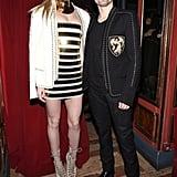 Fashion couple Elle Evans and Matt Bellamy