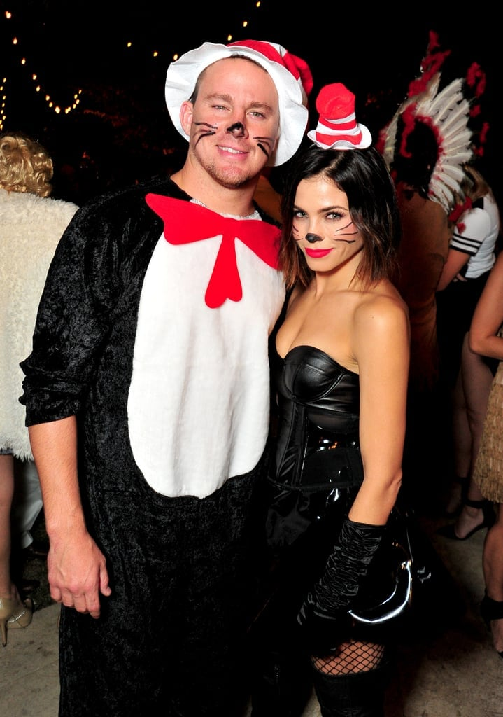 Channing Tatum and Jenna Dewan as The Cat in the Hat
