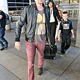 """Kate Hudson Arrives in LA With the """"Best Part of Her Day"""" — Her Boys!"""