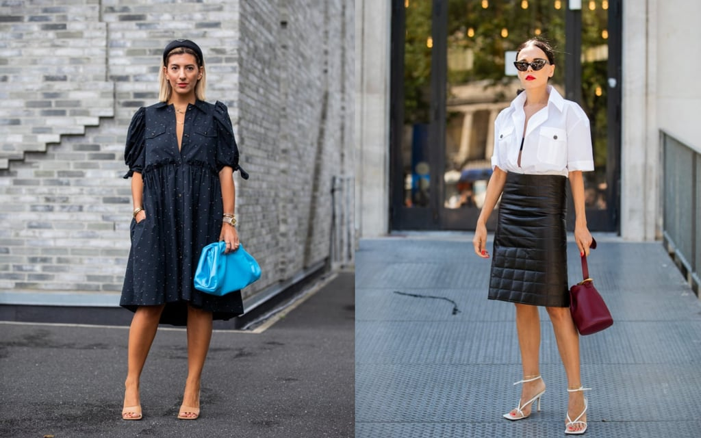 15 Easy Outfits to Try With Fall's Biggest Shoe Trend: Square-Toe Heels