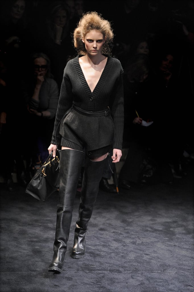 Miuccia Prada Brings Out the Fight for Fall 2009